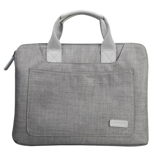 bag for macbook Waterproof canvas below 14inch graye - jisoncase