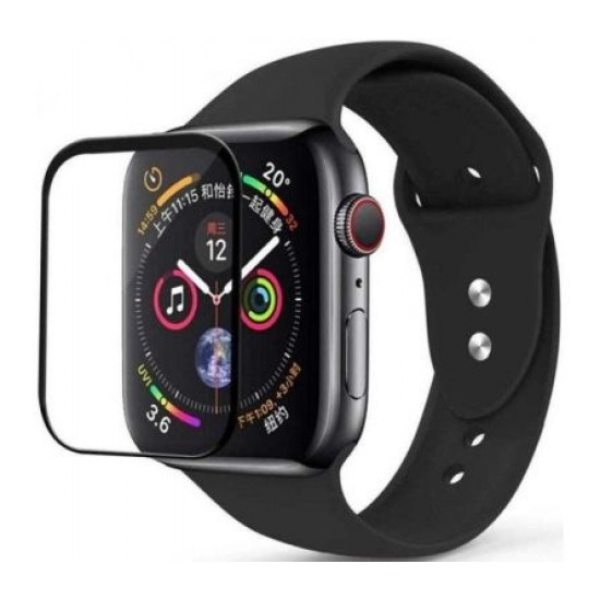 Screen Protector Glass Armor 4D for Apple Watch Serires 5 & 4 size 40mm by Coteetci