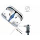 Airpods Dust Guard 18 k blue by beyondcell