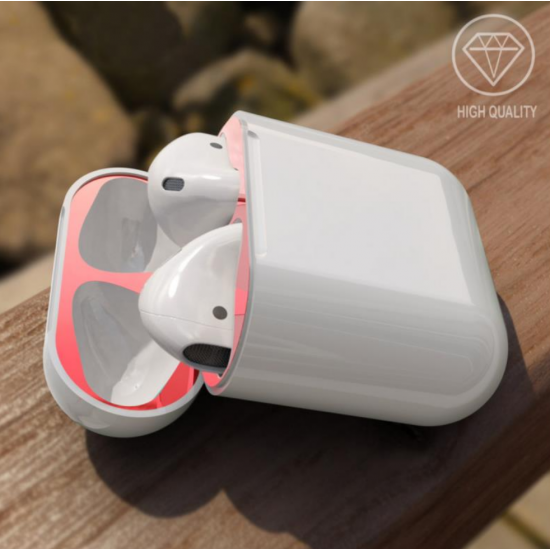Airpods Dust Guard 18 k red by beyondcell