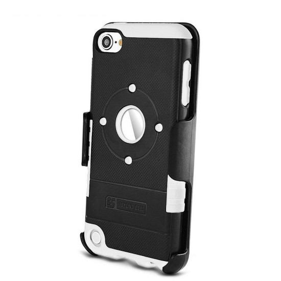 Duo Shield Kombo For Apple Ipod Touch 5 & 6 th Gen black & white by beyondcell