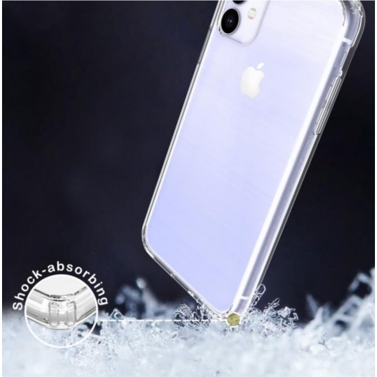 cover for iPhone 11 AquaFlex Shock Bumper Crystal Transparent Clear by beyondcell