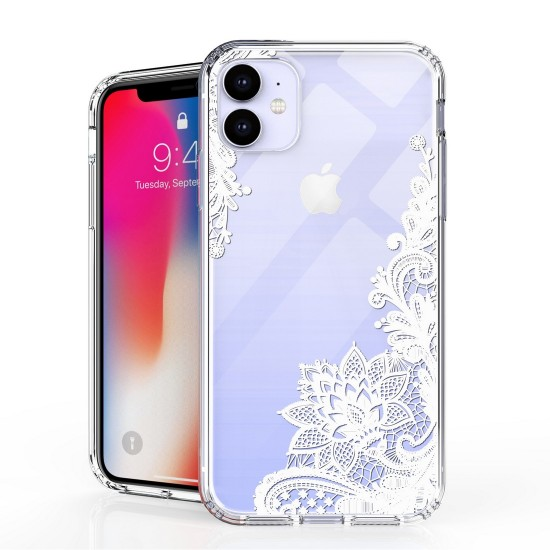 cover AquaFlex Suitable For Apple iPhone 11 6.1 Floral Laceby beyondcell