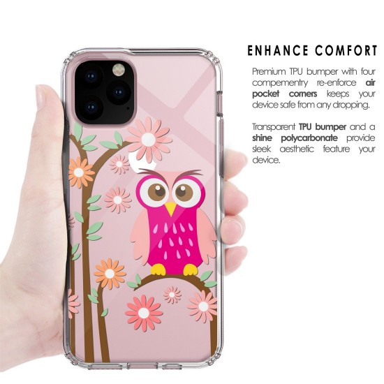 cover Flex Gel Suitable For Apple iPhone 11 Pro Daisy Owl by beyondcell