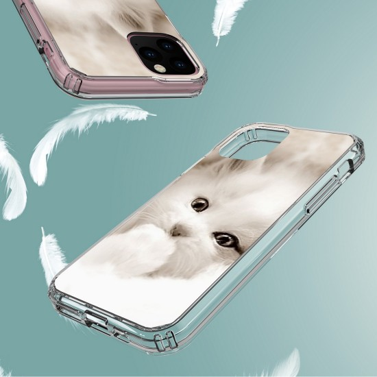 cover AquaFlex Suitable For Apple iPhone 11 Pro 5.8 White Kitten by beyondcell