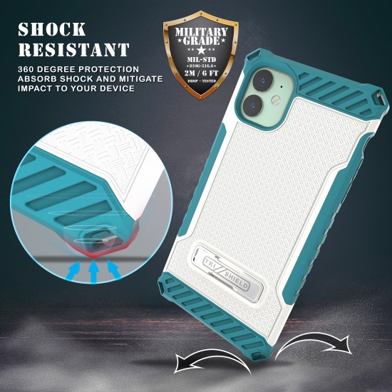 Tri Shield Suitable For Apple iPhone 11 White Light Blue TPU by beyondcell