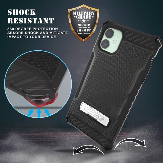 Tri Shield Suitable For Apple iPhone 11 Black TPU by beyondcell