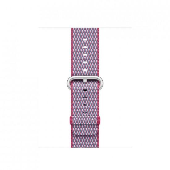 APPLE Band 42mm Berry Check Woven Nylon