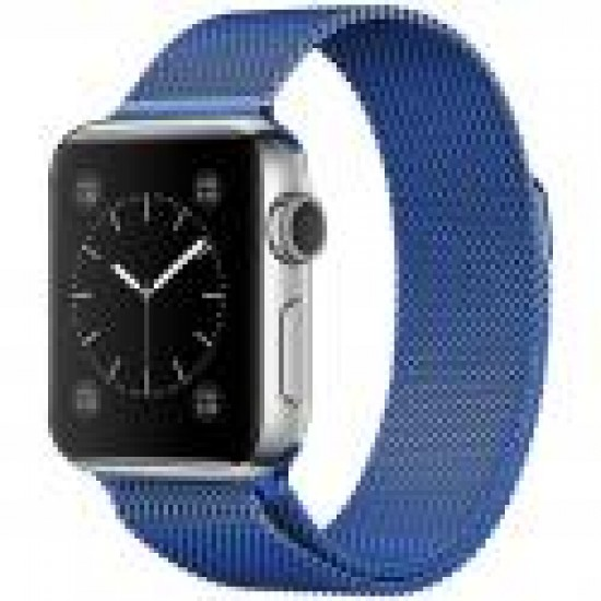 APPLE Band 42mm metal blue