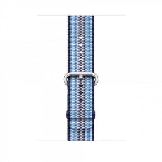 APPLE Band 42mm Midnight Blue Stripe Woven Nylon