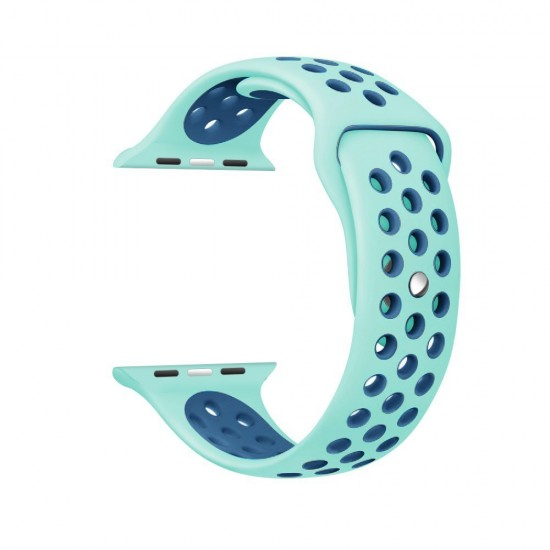 APPLE Band 42mm Nike Azure withe Navy