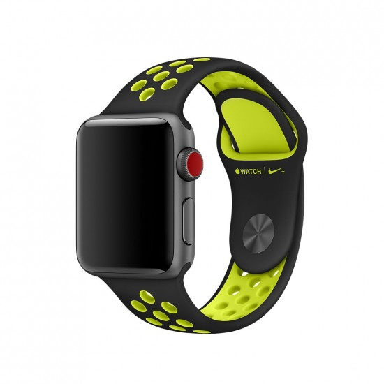 APPLE Band 42mm Nike black withe yelow
