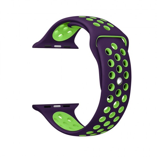 APPLE Band 42mm Nike purple withe green