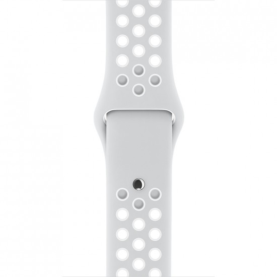 APPLE Band 42mm Nike white withe gray