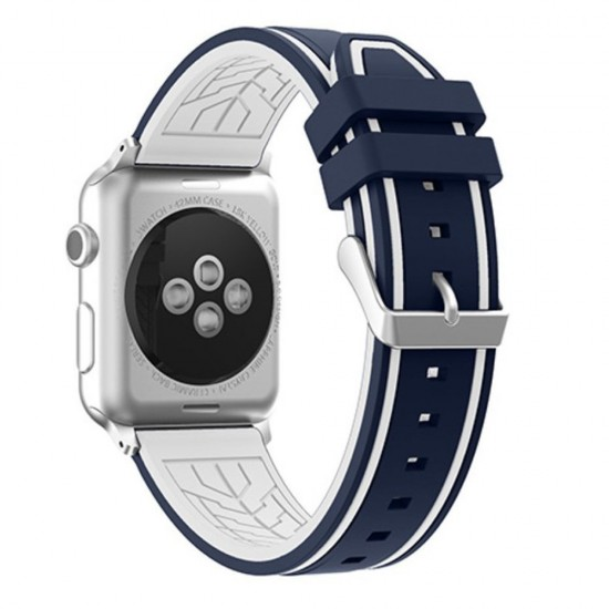 APPLE Band 42mm soft silicon blue