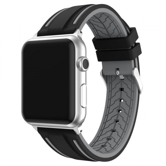 APPLE Band 42mm soft silicon gray