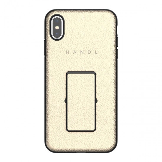 Cover iPhone XS Max HANDL Inlay case Gold by handlnewyork