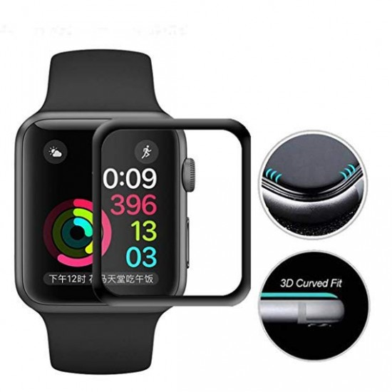 Screen Protector Glass Armor 3D for Apple Watch Serires 4 size 44mm by jcpal