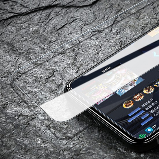 Premium Clear Glass Screen Protector for Apple iPhone Xs & iPhone X  by jinya