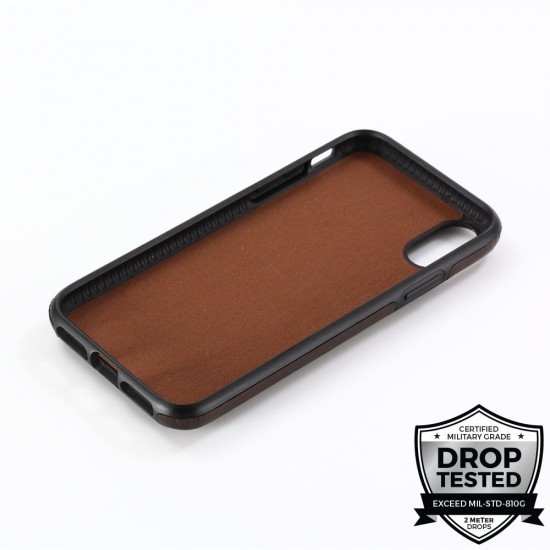 cover for iPhone X S MAX  Wallegee pro Browne by iamprodigee