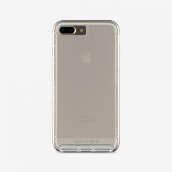 lowest price 15354 3d6cc Tech 21 Evo Elite Cover for Apple iPhone 7 Plus & 8 Plus clear ...
