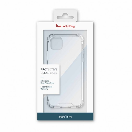 Wild Flag Fusion Case For iPhone 11 Pro Clear