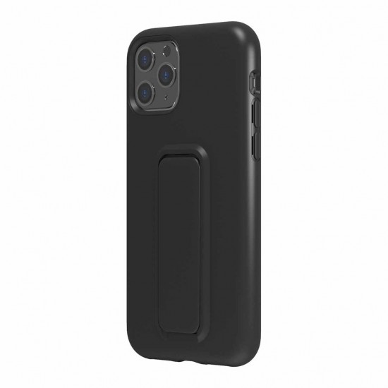 Case For iPhone 11 pro Eezl stand withe grip black by Wild Flag