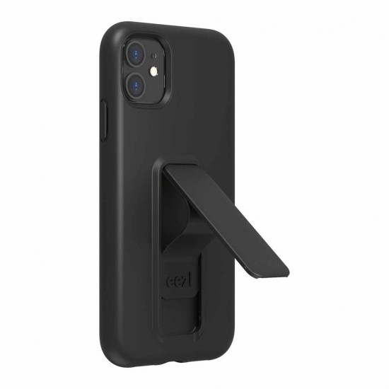 Case For iPhone 11 Eezl stand withe grip black by Wild Flag