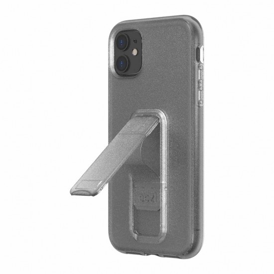 Case for iPhone 11 Pro Eezl stand withe grip clear by Wild Flag