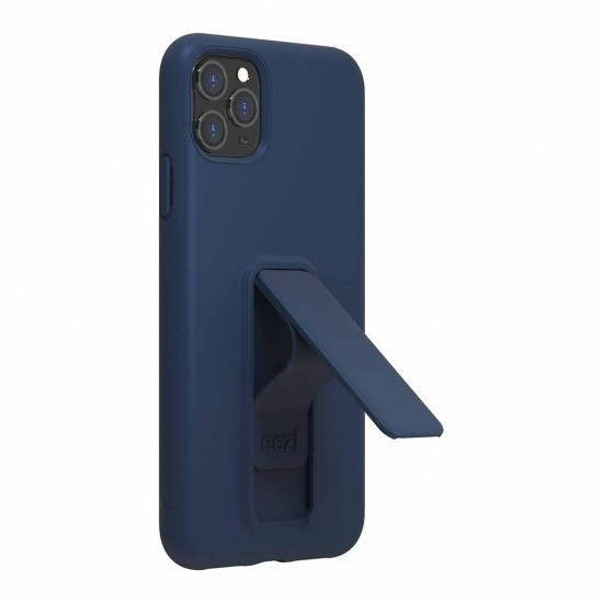 Case for iPhone 11 Pro Max  Eezl stand withe grip Navy by Wild Flag